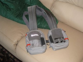Simms Waypoints Dual Chest Pack , Gunmetal