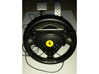 REA THRUSTMASTER Racing wheel2 pedaler FERRARI the PRANCING HORSE Play station?