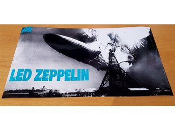 LED ZEPPELIN 1968 PHOTO POSTER