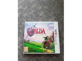 Nintendo 3ds. Ocarina of time.