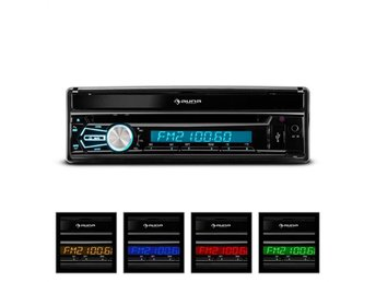 "Auna MVD-320 bilradio 17,8cm (7"")-touchscreen Bluetooth DVD USB SD FM front-AV"