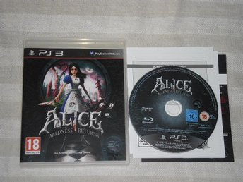 PlayStation 3/PS3: Alice: Madness Returns