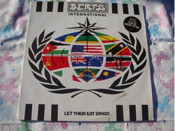 BEATS INTERNATIONAL - LET THEM EAT BINGO LP ELECTRONIC POP