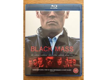 Black Mass Blu-ray Nyskick