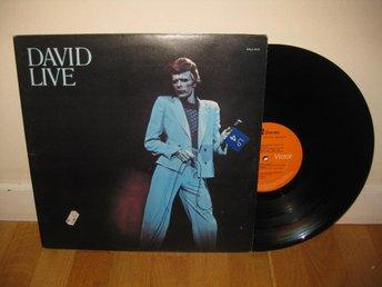 DAVID BOWIE - David live 2-LP / England / Tony Visconti - Stockholm - DAVID BOWIE - David live 2-LP / England / Tony Visconti - Stockholm