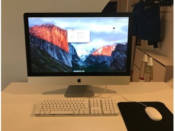 "iMac 27"" Mid 2010 2,93 Ghz i7, 8 GB, 250 GB HDD"