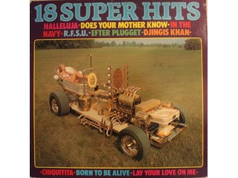Various - 18 Super-Hits (LP, Comp)