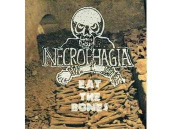 NECROPHAGIA - EAT THE BONES (LTD EDT, BLACK SPLATTER VINYL) LP