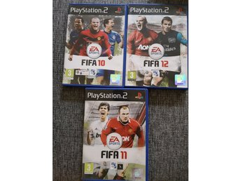 Fifa 10, fifa 11, fifa 12 ps2, playstation 2