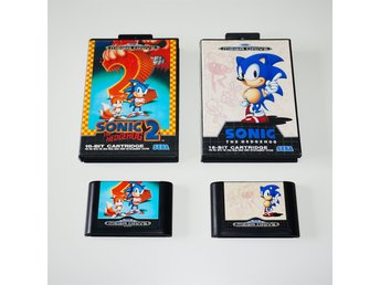 Sonic the hedgehog 1 & 2
