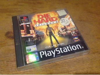 Sony PS1***Die Hard Trilogy 2***