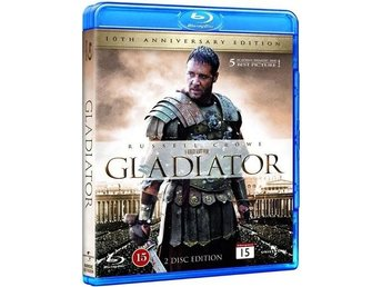 [Blu-Ray] Gladiator - 2-disc 10th Anniversary Edition (Russell Crowe)