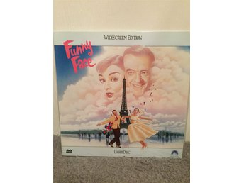 Funny face US LASERDISC  Fred Astaire Audrey Hepburn George Gershwin