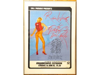 Roger Waters konsertposter 1984