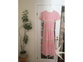 Vintage, 70-tals maxi-dress. Amerikansk