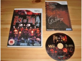Wii: House of the Dead 2 & 3 Return