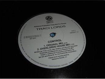 Traci Lords - Control 4 mixar (12a) promo VG+