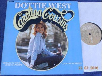 DOTTIE WEST - Carolina Cousins, LP RCA USA 1975