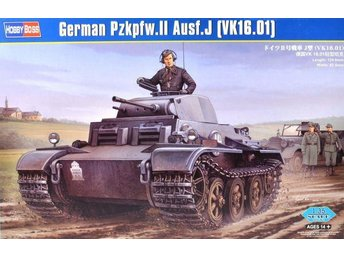 Hobby Boss 1/35 German Pzkpfw.II Ausf J (VK16.01) Early