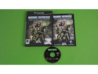 Marvel Nemesis Rise of the Imperfects KOMPLETT GameCube Game Cube