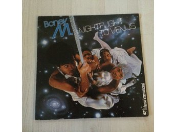 BONEY M - NIGHTFLIGHT TO VENUS . (LP)