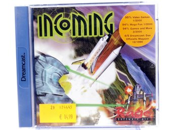 Incoming - Sega Dreamcast - PAL (EU)