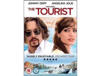 The Tourist - Johnny Depp - Angelina Jolie - DVD