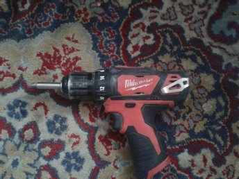 Milwaukee M12 CH borrhammare+ Milwaukee M12 BDD borrskruvdragare