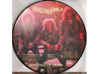 DESTRUCTION Sentence of Death/Mad Butcher SODOM,KREATOR,PRTECTOR,MINOTAUR,SLAYER