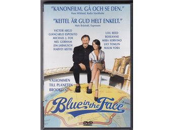Blue in the Face - Harvey Keitel - Lou Reed - Jim Jarmusch - m fl  Svensk Text!