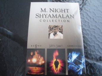 DVD-BOX M.NIGHT SHYLAMALAN COLLECTION *SIGNS, SJÄTTE SINNET, UNBREAKABLE*