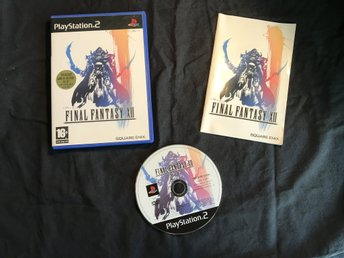 FINAL FANTASY 12 PLAYSTATION 2 PS2 SQUARE ENIX
