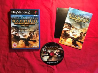 FULL SPECTRUM WARRIORS TEN HAMMERS PS2 PLAYSTATION 2 FINT SKICK