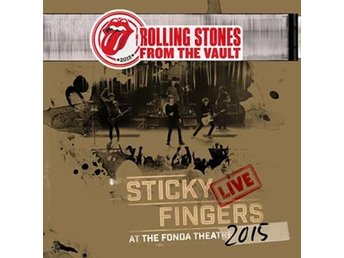 Rolling Stones: Sticky fingers Live 2015 (3 Vinyl LP + DVD)