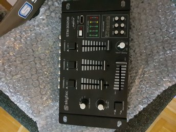 4kanals mixerbord usb/mp3