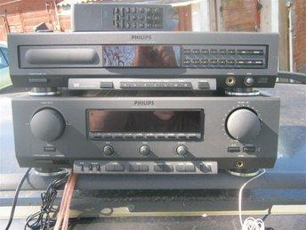 PHILIPS FR-911 RECIEVER+PHILIPS CD-910 CD SPELARE+FJÄRRKONTROLL MKT BRA ÖS! - Boxholm - PHILIPS FR-911 RECIEVER+PHILIPS CD-910 CD SPELARE+FJÄRRKONTROLL MKT BRA ÖS! - Boxholm