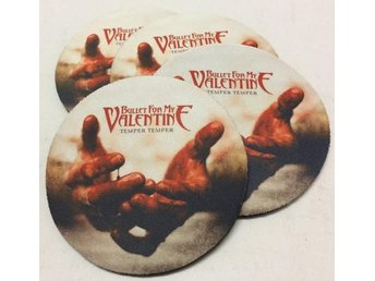 BULLET FOR MY VALENTINE COASTERS - Set of 4 - Udon Thani - BULLET FOR MY VALENTINE COASTERS - Set of 4 - Udon Thani