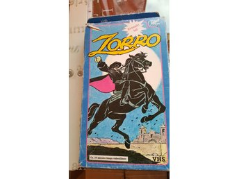 The New Adventures of Zorro (1981) 80-tal vhs retro