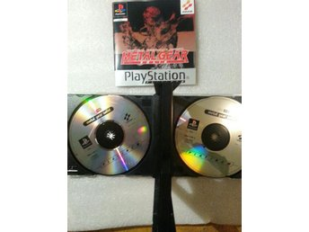 Metal Gear Solid PS1 Repfria Skivor & Kanonskick
