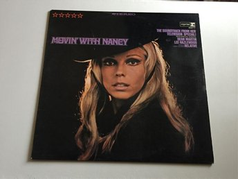 Nancy Sinatra - Movin' With Nancy (LP) [REPRISE RS 6277] pop - 60-tal