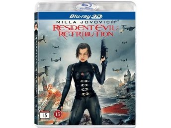 Resident Evil: Retribution (3D) (2012) (Blu-ray)