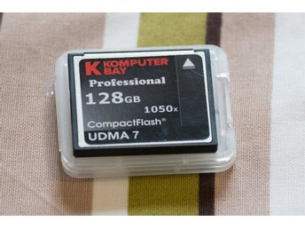 KomputerBay 128 GB Compact Flash CF 128GB UDMA 7
