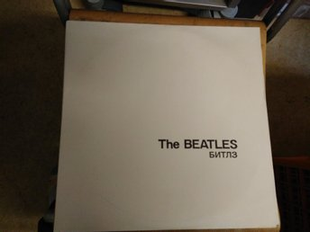 The Beatles - white album, 2 XLP