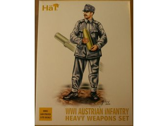 WWI AUSTRIAN INFANTRY HEAVY WEAPONS SET    HäT 1/72 Byggsats