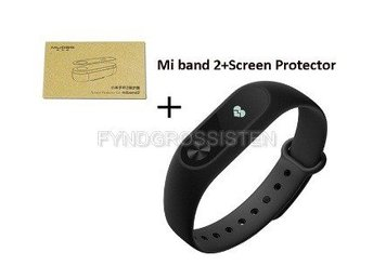 Xiaomi Mi Band 2 Fitness Heart Rate Monitor + Screen Protector Fri Frakt Helt Ny