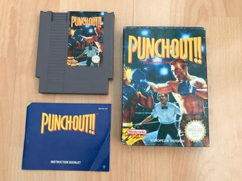 Punch-Out!! CIB SCN - NES