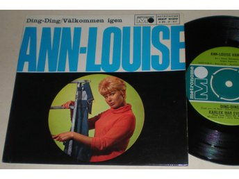 Ann-Louise Hanson EP/PS Ding-Ding 1964