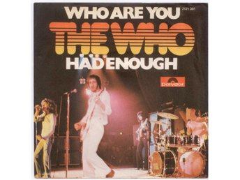 "THE WHO - Who Are You  7"" Singel  Tyskland"