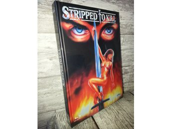 STRIPPED TO KILL (Lmtd Mediabook DVD BLURAY) 666 ex! RARE OOP (1987) SLASHER
