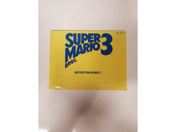 Super Mario 3 - Manual NES NINTENDO - USA